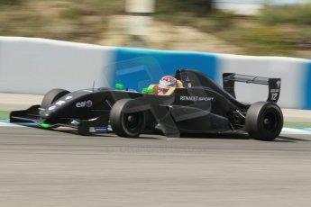 World © Octane Photographic Ltd. Eurocup Formula Renault 2.0 Championship testing. Jerez de la Frontera, Thursday 27th March 2014. Manor MP Motorsports – Max Verstappen. Digital Ref :  0900cb1d7818