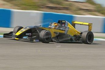 World © Octane Photographic Ltd. Eurocup Formula Renault 2.0 Championship testing. Jerez de la Frontera, Thursday 27th March 2014. Arta Engineering – Darius Oskoui. Digital Ref : 0900cb1d7823