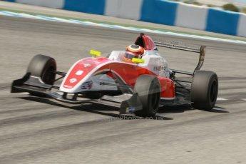 World © Octane Photographic Ltd. Eurocup Formula Renault 2.0 Championship testing. Jerez de la Frontera, Thursday 27th March 2014. Fortec Motorsports – Jack Aitken. Digital Ref :  0900cb1d7923