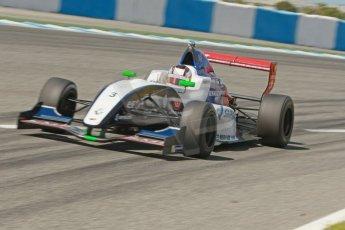 World © Octane Photographic Ltd. Eurocup Formula Renault 2.0 Championship testing. Jerez de la Frontera, Thursday 27th March 2014. Tech 1 Racing – Egor Orudzhev. Digital Ref :  0900cb1d7928