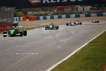 World © Octane Photographic Ltd. Eurocup Formula Renault 2.0 Championship testing. Jerez de la Frontera, Thursday 27th March 2014. Fortec Motorsports – Matt (Matthew) Parry. Digital Ref :  0900cb1d8018