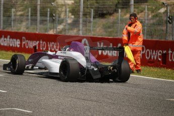 World © Octane Photographic Ltd. Eurocup Formula Renault 2.0 Championship testing. Jerez de la Frontera, Thursday 27th March 2014. China BRT by JCS – Matheo Tuscher. Digital Ref :  0900cb1d8097