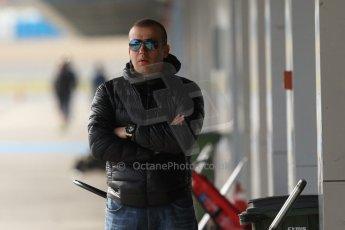 World © Octane Photographic Ltd. Eurocup Formula Renault 2.0 Championship testing. Jerez de la Frontera, Thursday 27th March 2014. ART Junior Team - Olivier Panis. Digital Ref :  0900cb7d8299