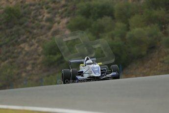 World © Octane Photographic Ltd. Eurocup Formula Renault 2.0 Championship testing. Jerez de la Frontera, Thursday 27th March 2014. Koiranen GP – Nicholas Surguladze. Digital Ref :  0900lb1d0088
