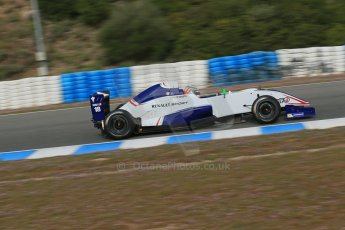 World © Octane Photographic Ltd. Eurocup Formula Renault 2.0 Championship testing. Jerez de la Frontera, Thursday 27th March 2014. Koiranen GP – Ignazia D'Agosto. Digital Ref :  0900lb1d0727