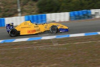 World © Octane Photographic Ltd. Eurocup Formula Renault 2.0 Championship testing. Jerez de la Frontera, Thursday 27th March 2014. Josef Kaufmann Racing – Gistav Malja. Digital Ref :  0900lb1d0747