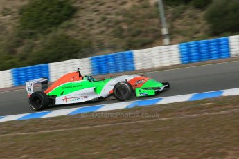 World © Octane Photographic Ltd. Eurocup Formula Renault 2.0 Championship testing. Jerez de la Frontera, Thursday 27th March 2014. Manor MP Motorsports – Andrea Pizzitola. Digital Ref :  0900lb1d0765