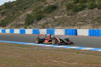 World © Octane Photographic Ltd. Eurocup Formula Renault 2.0 Championship testing. Jerez de la Frontera, Thursday 27th March 2014. ART Junior Team – Callan O'Keeffe. Digital Ref :  0900lb1d0786
