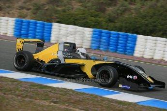 World © Octane Photographic Ltd. Eurocup Formula Renault 2.0 Championship testing. Jerez de la Frontera, Thursday 27th March 2014. Arta Engineering – James Allen. Digital Ref :  0900lb1d0825