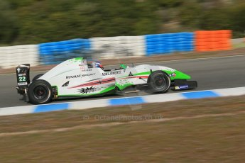 World © Octane Photographic Ltd. Eurocup Formula Renault 2.0 Championship testing. Jerez de la Frontera, Thursday 27th March 2014. Prema Powerteam – Dennis Olsen. Digital Ref :  0900lb1d0929