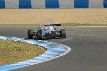 World © Octane Photographic Ltd. Eurocup Formula Renault 2.0 Championship testing. Jerez de la Frontera, Thursday 27th March 2014. Tech 1 Racing – Anthoine Hubert. Digital Ref :  0900lb1d1008