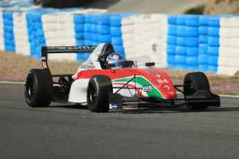 World © Octane Photographic Ltd. Eurocup Formula Renault 2.0 Championship testing. Jerez de la Frontera, Thursday 27th March 2014. Prema Powerteam – Andrew Tang. Digital Ref :  0900lb1d1036