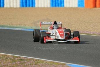 World © Octane Photographic Ltd. Eurocup Formula Renault 2.0 Championship testing. Jerez de la Frontera, Thursday 27th March 2014. Josef Kaufmann Racing – Kevin Joerg. Digital Ref : 0900lb1d1039