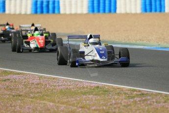 World © Octane Photographic Ltd. Eurocup Formula Renault 2.0 Championship testing. Jerez de la Frontera, Thursday 27th March 2014. Koiranen GP – Nicholas Surguladze. Digital Ref :  0900lb1d1073