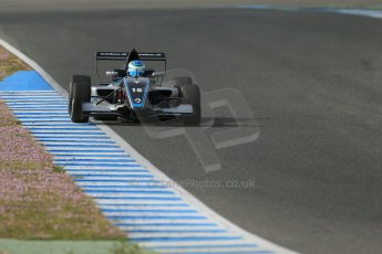 World © Octane Photographic Ltd. Eurocup Formula Renault 2.0 Championship testing. Jerez de la Frontera, Thursday 27th March 2014. Josef Kaufmann Racing – Ryan Tveter. Digital Ref :  0900lb1d1104