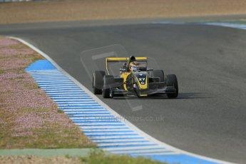 World © Octane Photographic Ltd. Eurocup Formula Renault 2.0 Championship testing. Jerez de la Frontera, Thursday 27th March 2014. Arta Engineering – Darius Oskoui. Digital Ref :  0900lb1d1131