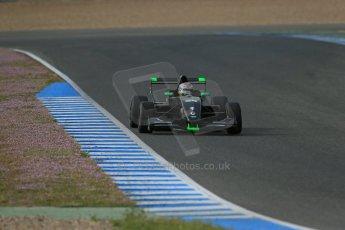World © Octane Photographic Ltd. Eurocup Formula Renault 2.0 Championship testing. Jerez de la Frontera, Thursday 27th March 2014. KTR – Gregor Ramsay. Digital Ref :  0900lb1d1147
