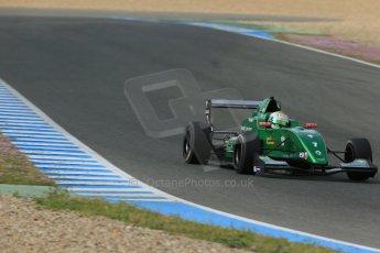 World © Octane Photographic Ltd. Eurocup Formula Renault 2.0 Championship testing. Jerez de la Frontera, Thursday 27th March 2014. Fortec Motorsports – Matt (Matthew) Parry. Digital Ref :  0900lb1d1277