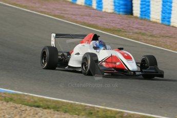 World © Octane Photographic Ltd. Eurocup Formula Renault 2.0 Championship testing. Jerez de la Frontera, Thursday 27th March 2014. ART Junior Team - Aureilen Panis. Digital Ref :  0900lb1d1318