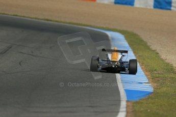 World © Octane Photographic Ltd. Eurocup Formula Renault 2.0 Championship testing. Jerez de la Frontera, Thursday 27th March 2014. Manor MP Motorsports – Steijn Schothorst. Digital Ref :  0900lb1d1348