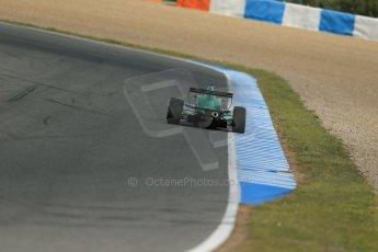 World © Octane Photographic Ltd. Eurocup Formula Renault 2.0 Championship testing. Jerez de la Frontera, Thursday 27th March 2014. Fortec Motorsports – Matt (Matthew) Parry. Digital Ref :  0900lb1d1387