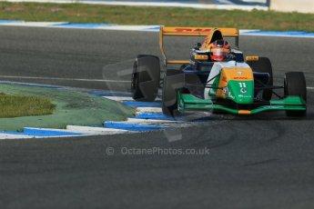 World © Octane Photographic Ltd. Eurocup Formula Renault 2.0 Championship testing. Jerez de la Frontera, Thursday 27th March 2014. Manor MP Motorsports – Steijn Schothorst. Digital Ref :  0900lb1d1426