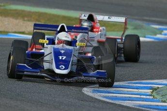 World © Octane Photographic Ltd. Eurocup Formula Renault 2.0 Championship testing. Jerez de la Frontera, Thursday 27th March 2014. Koiranen GP – Nicholas Surguladze. Digital Ref :  0900lb1d1557