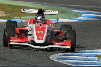 World © Octane Photographic Ltd. Eurocup Formula Renault 2.0 Championship testing. Jerez de la Frontera, Thursday 27th March 2014. Josef Kaufmann Racing – Kevin Joerg. Digital Ref : 0900lb1d1641