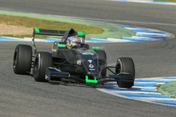World © Octane Photographic Ltd. Eurocup Formula Renault 2.0 Championship testing. Jerez de la Frontera, Thursday 27th March 2014. KTR – Gregor Ramsay. Digital Ref :  0900lb1d1665