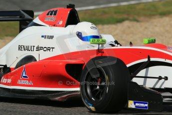 World © Octane Photographic Ltd. Eurocup Formula Renault 2.0 Championship testing. Jerez de la Frontera, Thursday 27th March 2014. Fortec Motorsports – Martin Rump. Digital Ref :  0900lb1d1680