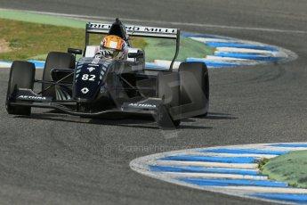 World © Octane Photographic Ltd. Eurocup Formula Renault 2.0 Championship testing. Jerez de la Frontera, Thursday 27th March 2014. Fortec Motorsports – Charles Leclerc. Digital Ref :  0900lb1d1684