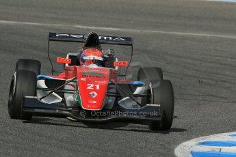 World © Octane Photographic Ltd. Eurocup Formula Renault 2.0 Championship testing. Jerez de la Frontera, Thursday 27th March 2014. Prema Powerteam – Hans Villemi. Digital Ref :  0900lb1d1710