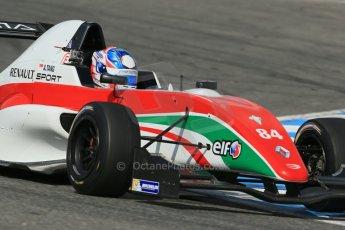 World © Octane Photographic Ltd. Eurocup Formula Renault 2.0 Championship testing. Jerez de la Frontera, Thursday 27th March 2014. Prema Powerteam – Andrew Tang. Digital Ref :  0900lb1d1855