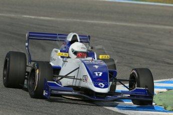 World © Octane Photographic Ltd. Eurocup Formula Renault 2.0 Championship testing. Jerez de la Frontera, Thursday 27th March 2014. Koiranen GP – Nicholas Surguladze. Digital Ref :  0900lb1d1861
