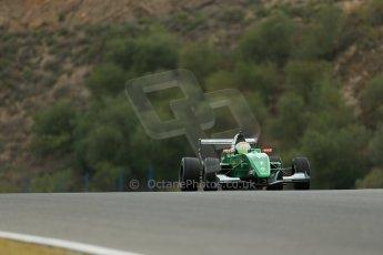 World © Octane Photographic Ltd. Eurocup Formula Renault 2.0 Championship testing. Jerez de la Frontera, Thursday 27th March 2014. Fortec Motorsports – Matt (Matthew) Parry. Digital Ref :  0900lb1d9904