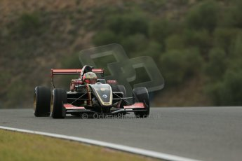 World © Octane Photographic Ltd. Eurocup Formula Renault 2.0 Championship testing. Jerez de la Frontera, Thursday 27th March 2014. ART Junior Team – Callan O'Keeffe. Digital Ref :  0900lb1d9971