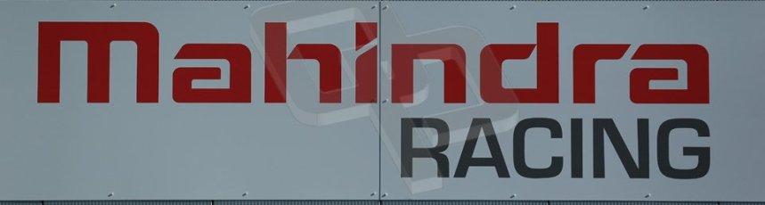 World © Octane Photographic Ltd. FIA Formula E testing Donington Park 10th July 2014. Mahindra Racing logo. Digital Ref : 1032CB1D3290