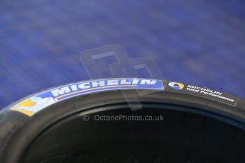 "World © Octane Photographic Ltd. FIA Formula E testing Donington Park 10th July 2014. Michelin 18"" tyres. Digital Ref : 1032CB1D3298"