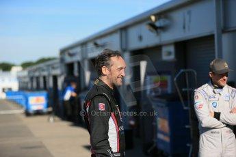 World © Octane Photographic Ltd. FIA Formula E testing Donington Park 10th July 2014. Andretti Autosport – Scott Speed and Franck Montagny. Digital Ref : 1032CB1D3304