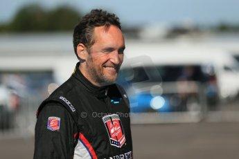World © Octane Photographic Ltd. FIA Formula E testing Donington Park 10th July 2014. Andretti Autosport - Franck Montagny. Digital Ref : 1032CB1D3315