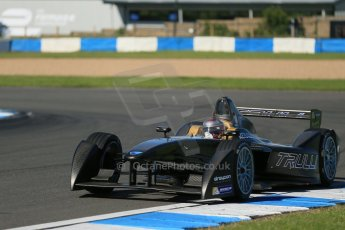 World © Octane Photographic Ltd. FIA Formula E testing Donington Park 10th July 2014. Spark-Renault SRT_01E. TrulliGP - Jarno Trulli. Digital Ref : 1032CB1D3341
