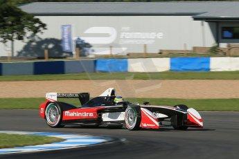 World © Octane Photographic Ltd. FIA Formula E testing Donington Park 10th July 2014. Spark-Renault SRT_01E. Mahindra Racing - Bruno Senna. Digital Ref : 1032CB1D3378