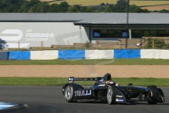 World © Octane Photographic Ltd. FIA Formula E testing Donington Park 10th July 2014. Spark-Renault SRT_01E. TrulliGP - Jarno Trulli. Digital Ref : 1032CB1D3391