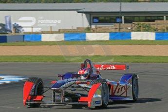 World © Octane Photographic Ltd. FIA Formula E testing Donington Park 10th July 2014. Spark-Renault SRT_01E. Virgin Racing - Sam Bird. Digital Ref : 1032CB1D3407