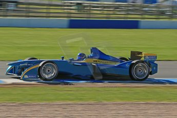 World © Octane Photographic Ltd. FIA Formula E testing Donington Park 10th July 2014. Spark-Renault SRT_01E. e.dams-Renault – Nicolas Prost. Digital Ref : 1032CB1D3425
