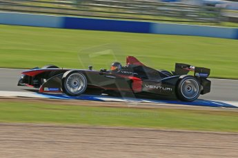 World © Octane Photographic Ltd. FIA Formula E testing Donington Park 10th July 2014. Spark-Renault SRT_01E. Venturi - Nick Heidfeld. Digital Ref : 1032CB1D3436
