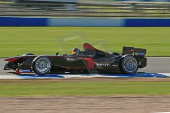 World © Octane Photographic Ltd. FIA Formula E testing Donington Park 10th July 2014. Spark-Renault SRT_01E. Venturi - Nick Heidfeld. Digital Ref : 1032CB1D3478
