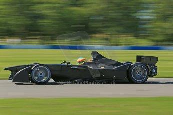 World © Octane Photographic Ltd. FIA Formula E testing Donington Park 10th July 2014. Spark-Renault SRT_01E. Dragon Racing – Mike Conway. Digital Ref : 1032CB1D3566