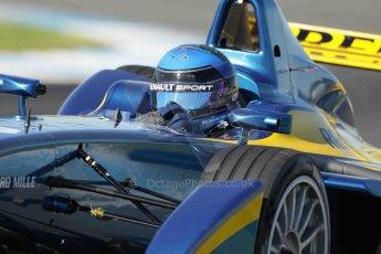 World © Octane Photographic Ltd. FIA Formula E testing Donington Park 10th July 2014. Spark-Renault SRT_01E. e.dams-Renault – Nicolas Prost. Digital Ref : 1032CB1D3969