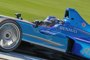 World © Octane Photographic Ltd. FIA Formula E testing Donington Park 10th July 2014. Spark-Renault SRT_01E. Amlin Aguri - Fabio Leimer. Digital Ref : 1032CB1D4067